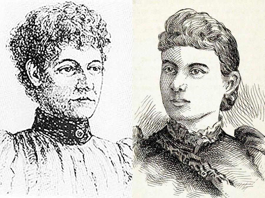 H. H. Holmes' victims: Minnie and NannieWilliams