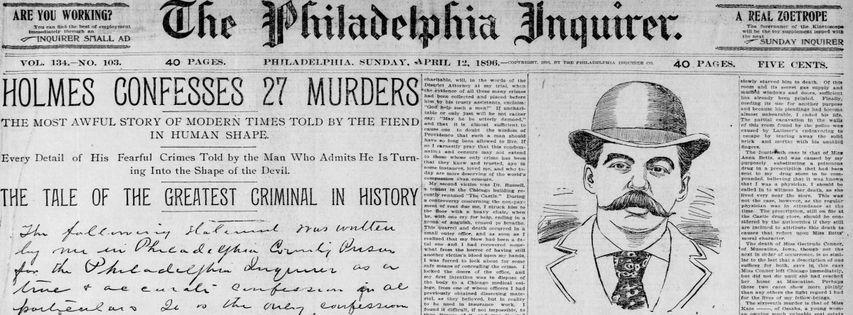 H. H. Holmes and the 27 bodyproblem